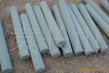 厂家销售、加工订做绿碳化硅圆柱油石、磨石、圆柱砂棒