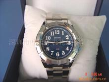 供应广告促销石英手表、礼品表、金属带石英防水礼品手表、机械表