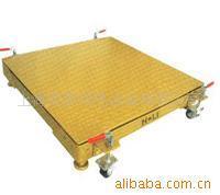 供應帶輪子的電子地磅,移動地磅產品報價,1.2*1.5電子地秤