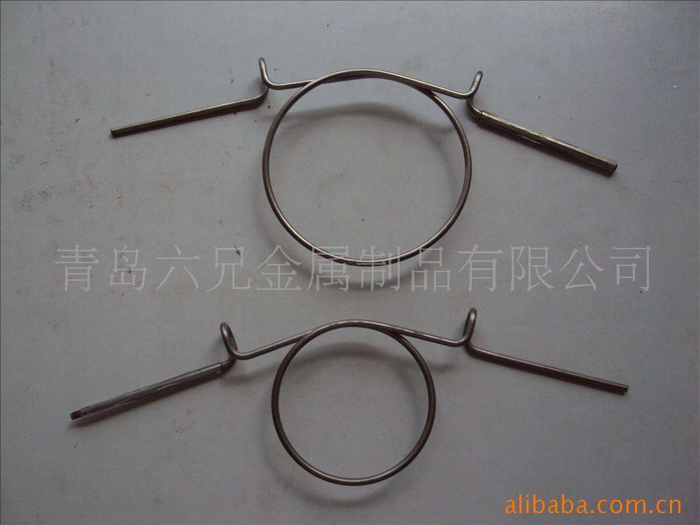提供铁丝件加工,不锈钢丝成型,异型铁丝件