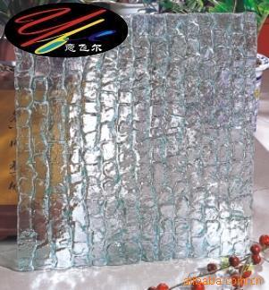 工厂批发热熔钢化艺术玻璃 款式多样美观大气 现货直供热熔玻璃