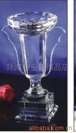 珠海香港澳门碗型水晶奖杯 奖品 礼品定做